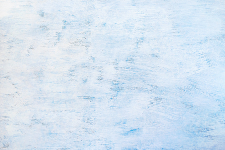Abstract painted light blue background. Blue wooden texture. Stock Photo