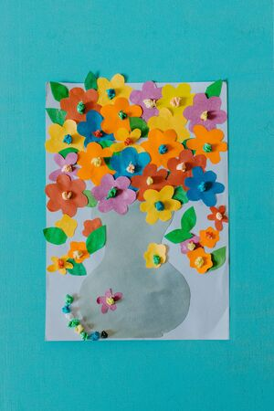 Spring, summer DIY kid paper craft ideas, preschool activities. Easy crafts ideas, creative paper projects for kids. Fun educational activities for children.