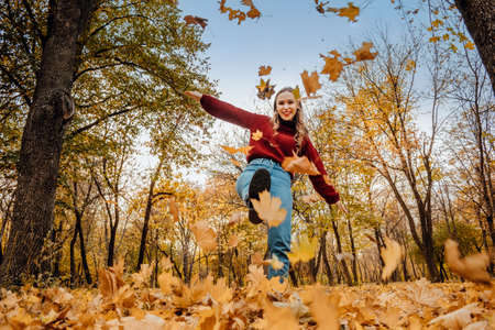 Activities for Happy Fall, Improve Yourself, Ways To Be Happy And Healthy autumn. Embrace Life, Happiness, Joyful Habits, Mindfulness, Health and Wellness, Empowerment, Mindset in Fall