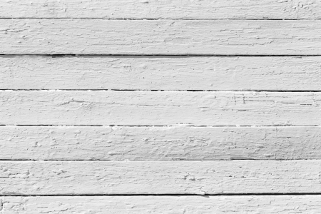White wooden plank texture - Stock Image
