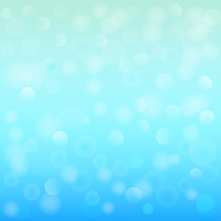 Blue bokeh abstract light illustration