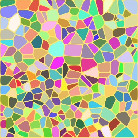Colorful mosaic background - Vector Illustartion
