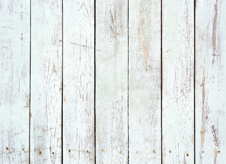 Black and white background of weathered painted wooden plank  Stock Photo