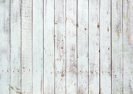 Czarne i białe tło wyblakły malowane drewniane deski