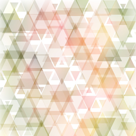 Abstract triangle tender soft white background. Used mesh layers and transparency layers.  Vector