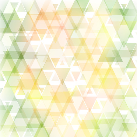 Abstract triangle tender soft summer background. Used mesh layers and transparency layers.  Vector