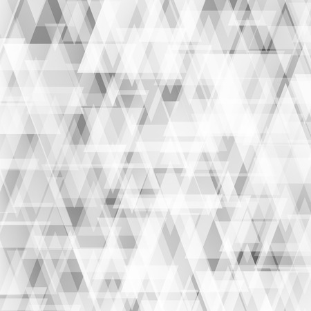 Abstract grey triangle background. Used mesh layers and transparency layers.
