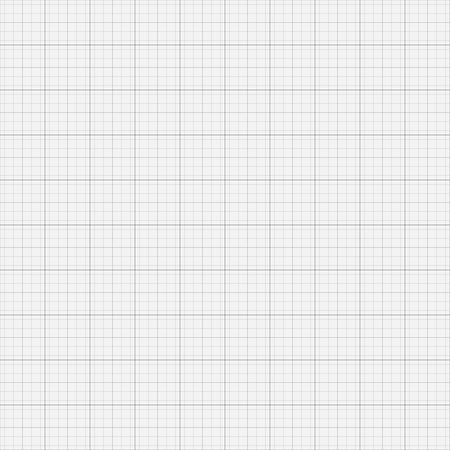 Graph grid paper vector illustration. Vector