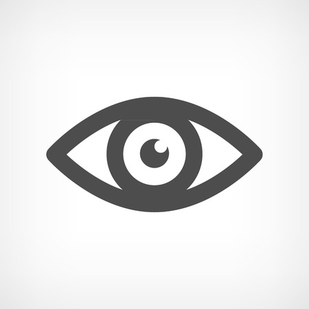 Eye icon - Simple vector