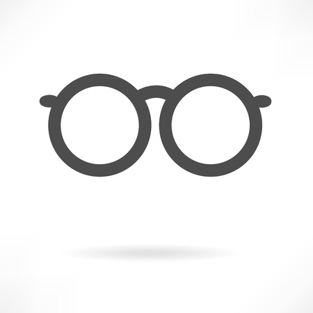 Eyeglasses Sign vector Vector