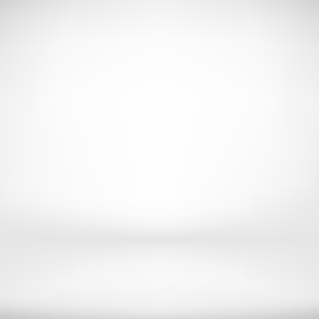 Empty White Studio Backdrop in Vector Illustration