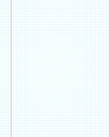 Notebook paper illustrator background Illustration