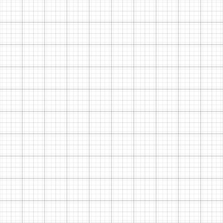 millimeter: Graph grid millimeter paper vector illustration.