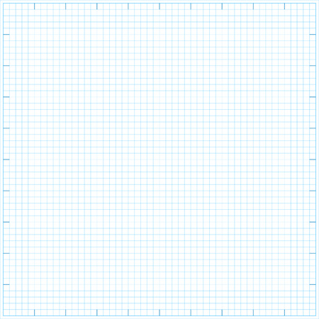 Square grid math paper background. Vector illustration.  Vector