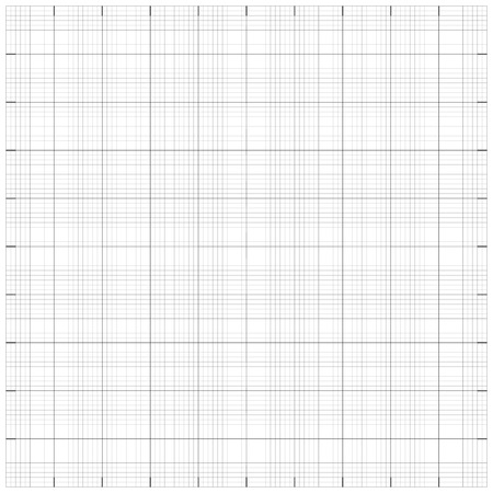 Square grid millimetre graph paper background. Vector illustration.  Vector