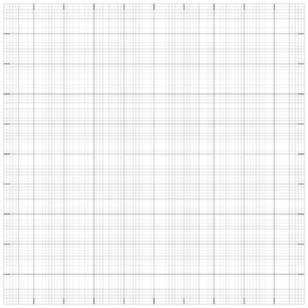 millimetre: Square grid millimetre graph paper background. Vector illustration.  Illustration