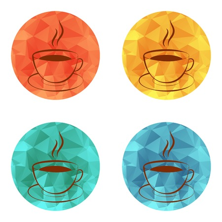 Cup of hot drink icon (coffee, tea, cocoa, chocolate, etc)