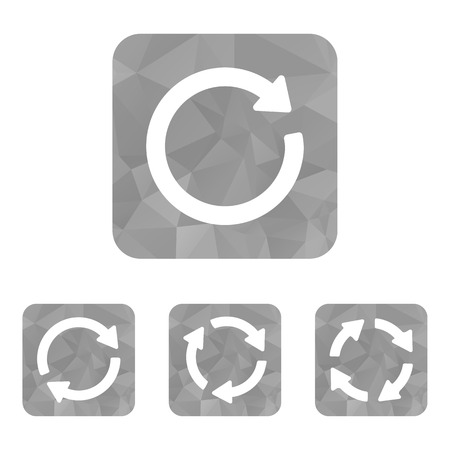 arrow sign reload refresh rotation Illustration