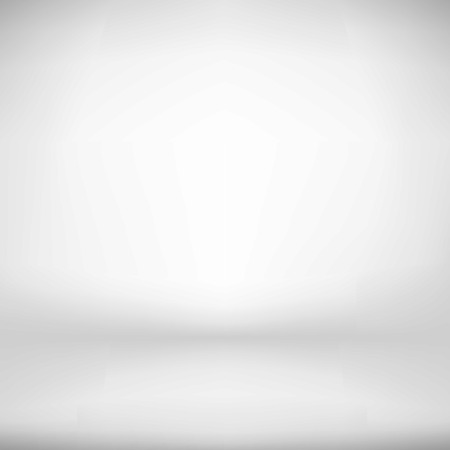Empty White Studio Backdrop Interior   Vector