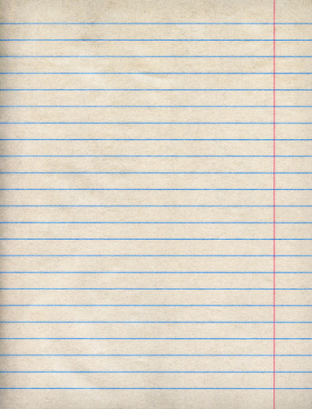 college ruled: Notebook Paper Background Stock Photo