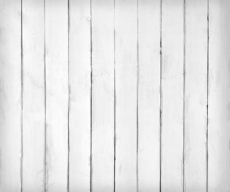 Białe drewniane deski tekstury lub tła