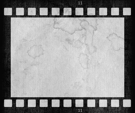 Grunge dirty grunge film strip frame background photo