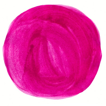 Abstract pink watercolor circle painted background photo