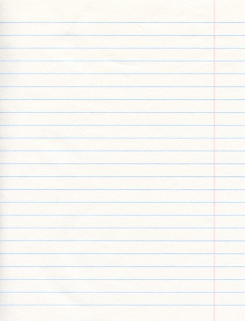 Notebook Lined Paper Background Or Texture Stock Photo Picture
