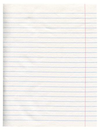 margine: Notebook Linea Libro Bianco Con Margine Archivio Fotografico