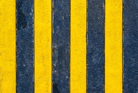 Yellow Warning Stripes Background photo