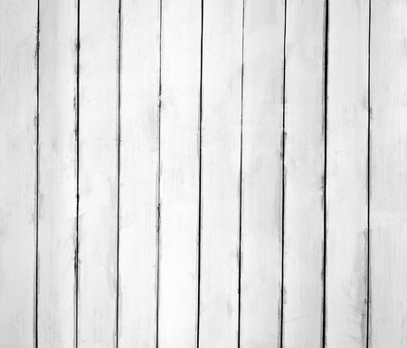 White wooden plank texture or background photo