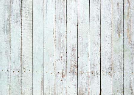Vintage biały drewniane tle ściany