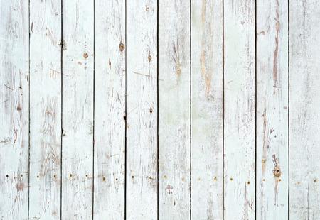 Vintage witte houten muur achtergrond Stockfoto