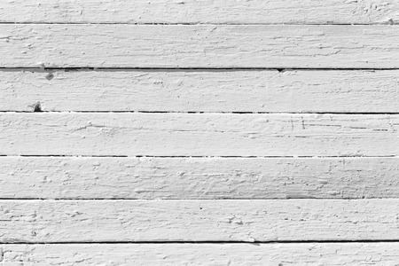 Close-up of white wooden plank photo