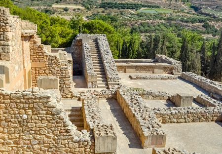 minoan: Knossos palace at Crete, Greece Knossos Palace, is the largest Bronze Age archaeological site on Crete and the ceremonial and political centre of the Minoan civilization and culture.