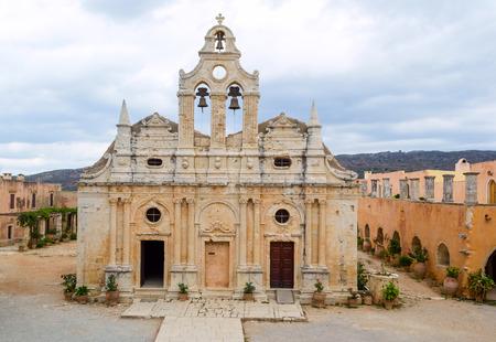 arkadia: Arkadia monastery in Crete