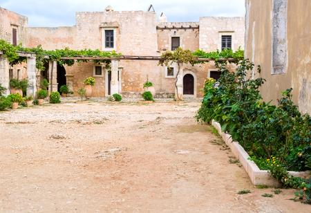 Arkadia monastery in Crete