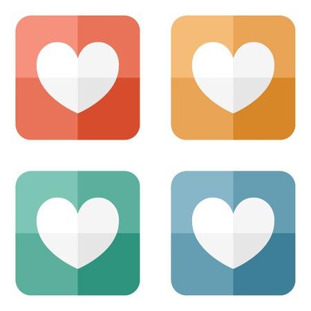 Valentine ikonę serca