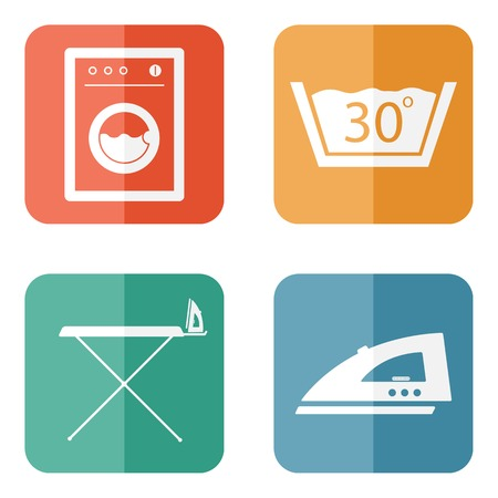 laundry room: Laundry Room Symbols and Icons