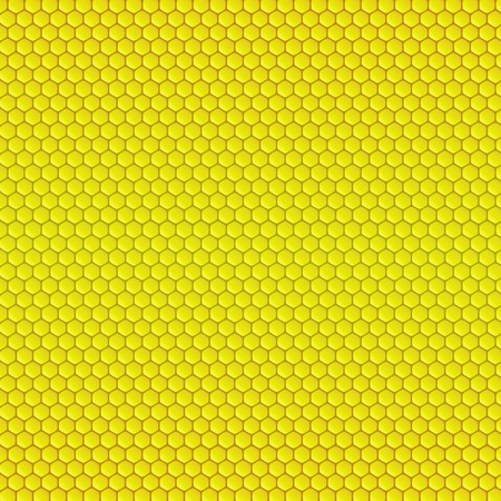 Abstract geometric pattern with honeycombs Ilustracja
