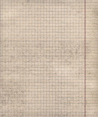 Math paper sheet background - Closeup. photo