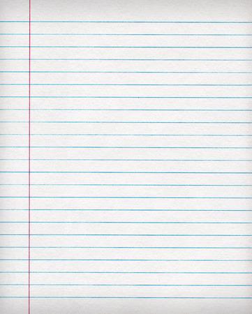 notebook: Notebook gelinieerd papier achtergrond of textuur