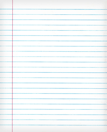 Notebook gelinieerd papier achtergrond of textuur