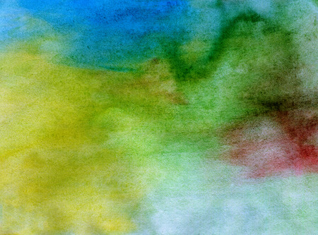 Abstract bright watercolor painted background or texture
