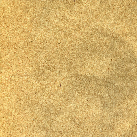 Old beige scratched paper texture or background vector.