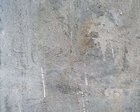 unkept: Grey concrete dirty wall texture or background