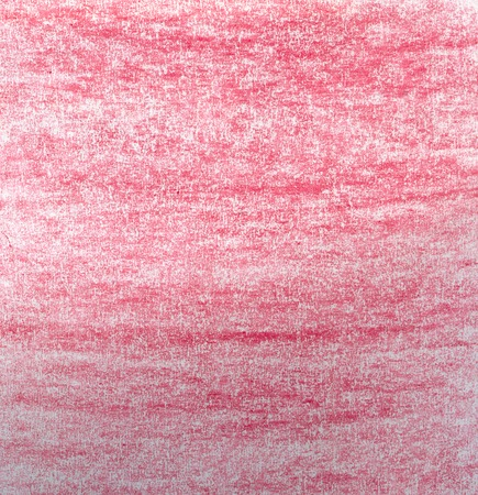 Crayon pencil paper background in red tones.