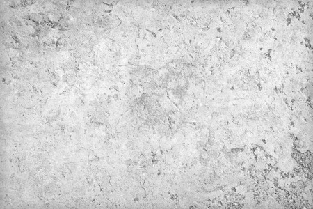 Grey white concrete dirty wall interior texture or background Stock Photo