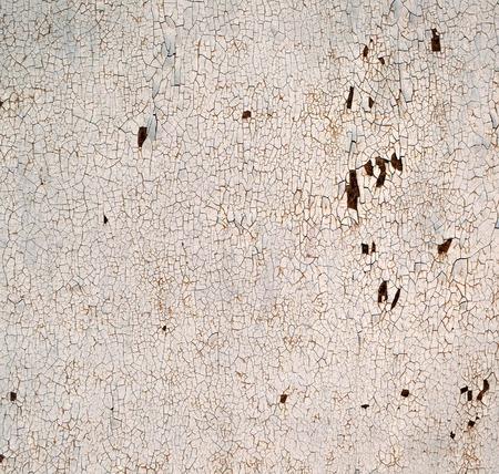 Rusty tekstury metalu w kolorze z krakingu farby, grunge