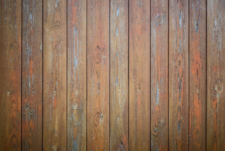 Houten oude bruine grunge plank textuur als achtergrond